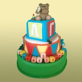 Заказать дорогой детский торт в