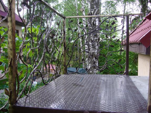 Ковка ограждений балконов