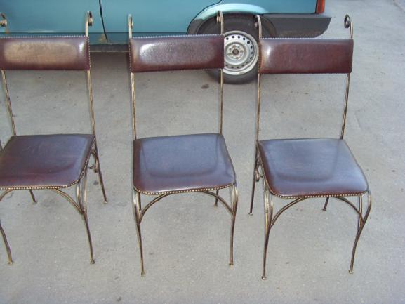 Художественная ковка стульев