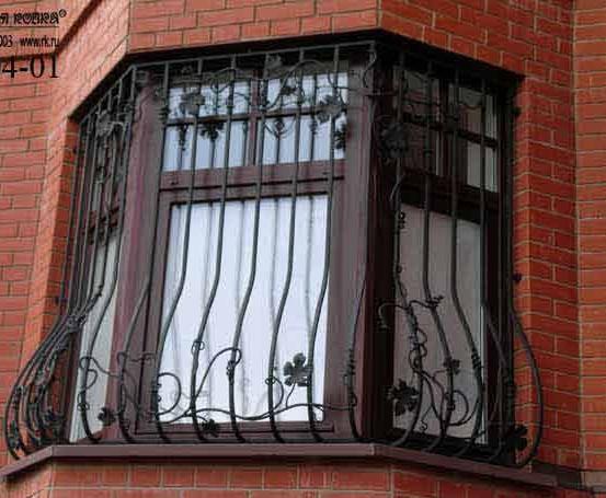 Художественная ковка металлических решеток