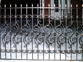 Ковка решёток оград