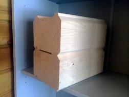 Брус профилированный 150*150*6000 цена за куб